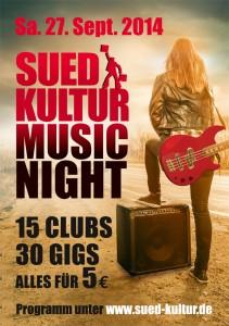 Suedkultur MusicNight 2014